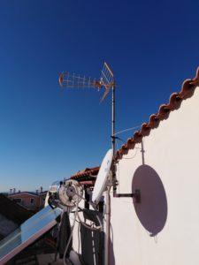 Εγκατάσταση κεντρικής κεραίας & επισκευή δορυφορικού πιάτου - Γέρακας