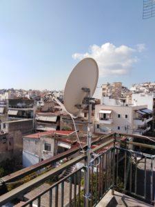 Εγκατάσταση δορυφορικού πιάτου Nova - Περιστέρι