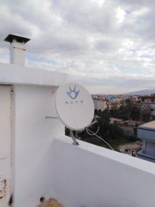Επισκευή δορυφορικού πιάτου Nova - Ζεφύρι